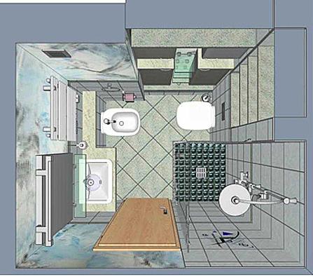 Kraftvolles Minibad Amazing Design